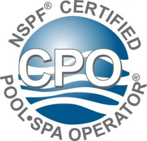 Certified Pool Operator logo - omega custom pools