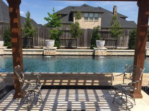Pool Design Cross Creek Ranch TX