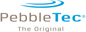 pebble-tec-logo - omega custom pools