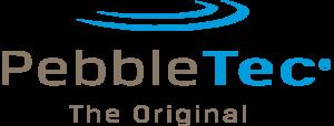 pebble-tec-logo - omega custom pools